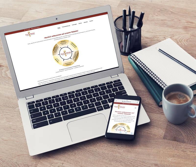 Referenz Webdesign StartUp