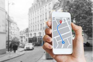 Google My Business Eintrag auf dem Smartphone